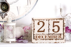 Save the Date calendar Stock Photography