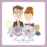 Save the date Royalty Free Stock Images