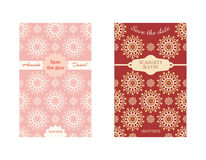 Save the date card. Template save the date card with text Royalty Free Stock Images