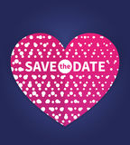 Save the date card template Stock Images