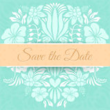 Save the Date Card Royalty Free Stock Photography