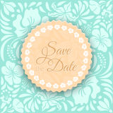 Save the Date Card Stock Photo