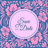 Save the Date Card Royalty Free Stock Photos