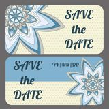 Save the date card Stock Photography