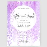 Save the date card, wedding invitation, greeting card with beautiful flowers and letters. Save the date card, wedding invitation, greeting card with beautiful Stock Photos