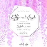 Save the date card, wedding invitation, greeting card with beautiful flowers and letters. Save the date card, wedding invitation, greeting card with beautiful Royalty Free Stock Photography