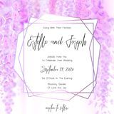 Save the date card, wedding invitation, greeting card with beautiful flowers and letters. Save the date card, wedding invitation, greeting card with beautiful Royalty Free Stock Photo