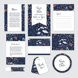 Save The Date cards Stock Images