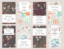 Save The Date cards Stock Photography