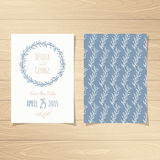 Save the Date Cards Stock Photos