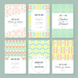 Save The Date collection Stock Images