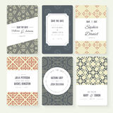 Save The Date collection Royalty Free Stock Photo
