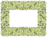 Save the Date Floral Card.  Border Frame . Royalty Free Stock Image