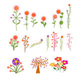 Save the date floral card, invitation Stock Images