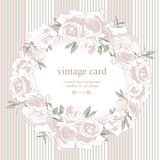 Save the Date Floral Card. Stock Photos