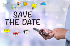 SAVE THE DATE Stock Image