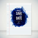 Save the date for personal holiday. Stock Photos