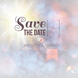 Save the date for personal holiday. Royalty Free Stock Photo