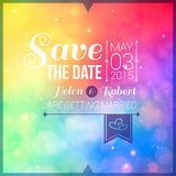 Save the date for personal holiday. Wedding invitation. Vector i Royalty Free Stock Photography