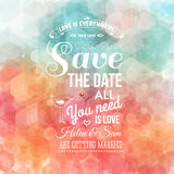 Save the date for personal holiday. Stock Images