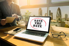 SAVE THE DATE Stock Photos