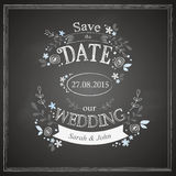 Save the date wedding card Stock Images