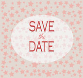 Save the date for the wedding Stock Photos