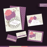Save the date wedding invitation card Stock Photo