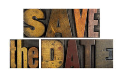 Save the Date Royalty Free Stock Photos