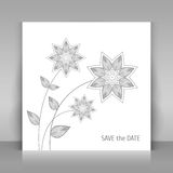 Save the day card. Royalty Free Stock Photos