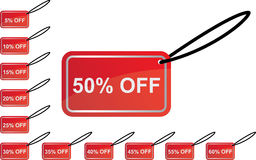 Save discount sign Stock Images