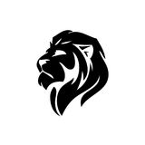 Lion head -  sign concept illustration. Lion head logo. Wild lion head graphic illustration. Design,EPS 8,EPS 10 Royalty Free Stock Photography