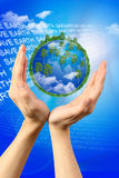 Save earth Royalty Free Stock Photography