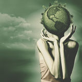 Save the Earth. Royalty Free Stock Photo