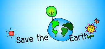 Save the earth concept Stock Photos