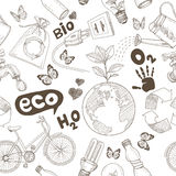 Save the earth concept. Ecology doodles icon Stock Photo