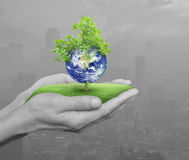 Save earth concept, Elements of this image furnished by NASA Stock Image