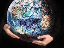 Save the Earth - conceptual picture stock images