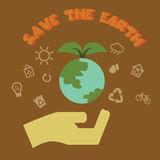 Save the earth Stock Photo