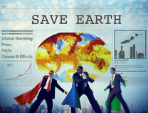 Save Earth Environment Conservation Protection Concept Royalty Free Stock Image