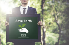 Save Earth Environmental Conservation Global Concept Royalty Free Stock Images