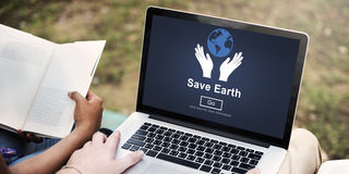 Save Earth Environmental Conservation Global Concept Royalty Free Stock Photo