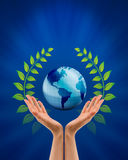 Save Earth/ Nature Concept Stock Image