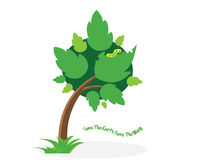 Save the Earth save the world. Tree is save the world concept Royalty Free Stock Photo