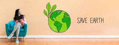 Green World Drawing Concept Save Earth Stock Images 54 Photos