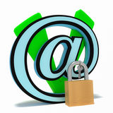 Save emaila blokującego ilustracji