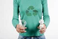 Save energy! Royalty Free Stock Photo