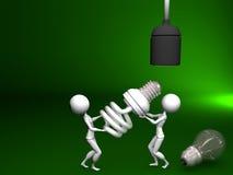 Save Energy. Make a Change and Save Energy Stock Image