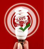 Save energy Royalty Free Stock Photography