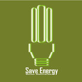 Save energy Royalty Free Stock Image
